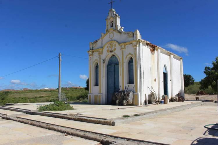 Capela de Nossa Senhora de Fátima, em Solonópole, construída em 1935. O município é um dos poucos sem casos suspeitos da Covid-19