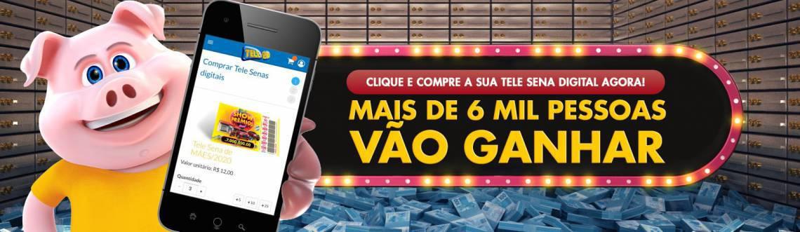 Resultado do sorteio da Tele Sena deste domingo, divulgado pelo SBT