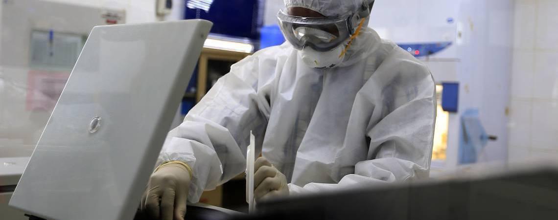 Eusébio deve contar com laboratório para exames moleculares (Foto: MOHAMMED HUWAIS / AFP)