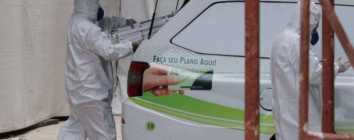 Casos de Covid-19 pressionam rede hospitalar em Fortaleza (Foto: Fabio Lima)