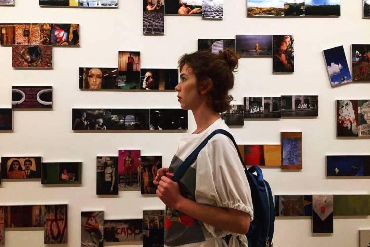 Bia Soares no Museu da Fotografia (Foto: Arquivo pessoal)