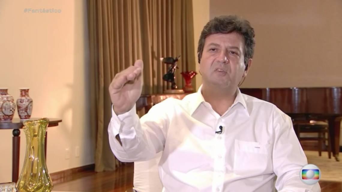 O ministro Luiz Mandetta, da Saúde (Foto: REPRODUÇÃO)