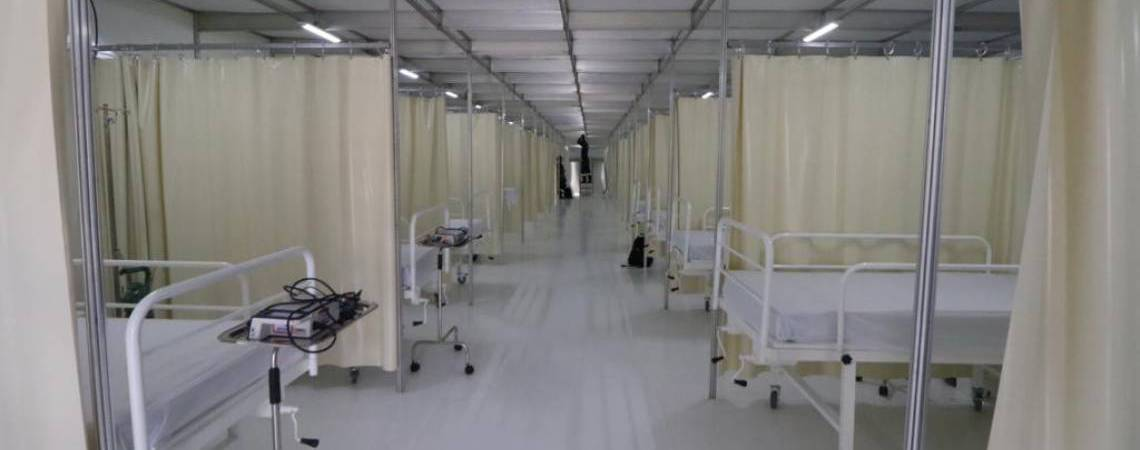 40 leitos na UPA do Jangurussu instalados para receber pacientes com Covid-19 (Foto: FÁBIO LIMA/O POVO)