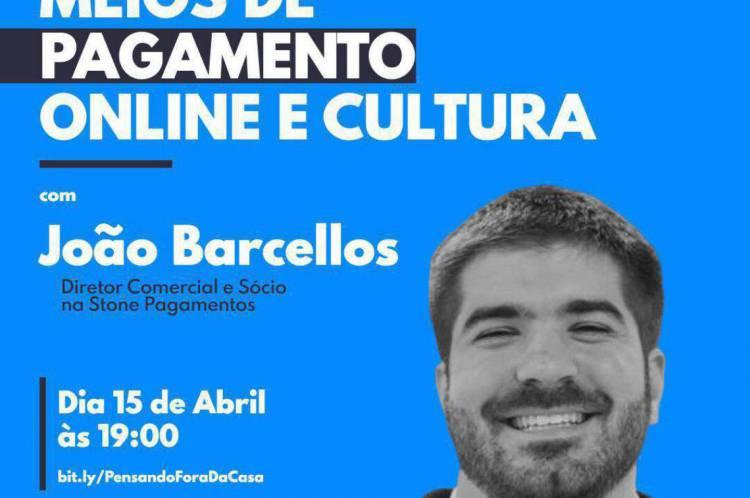 João Barcellos é diretor comercial e sócio na Stone Pagamentos