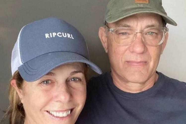 Tom Hanks e Rita Wilson (Foto: Reprodução/ Instagram)