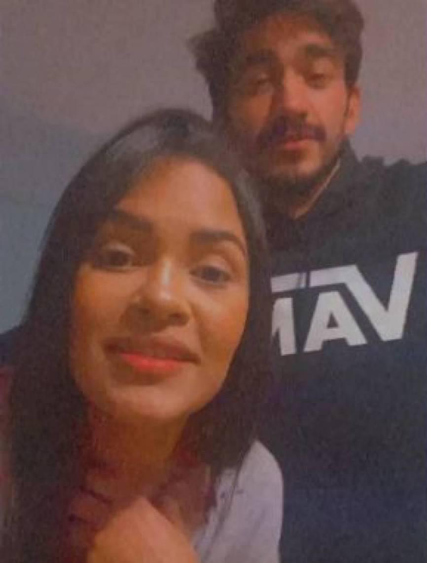 Por meio dos stories do Instagram, Guilherme Napolitano e Flayslane Raiane compartilharam o encontro