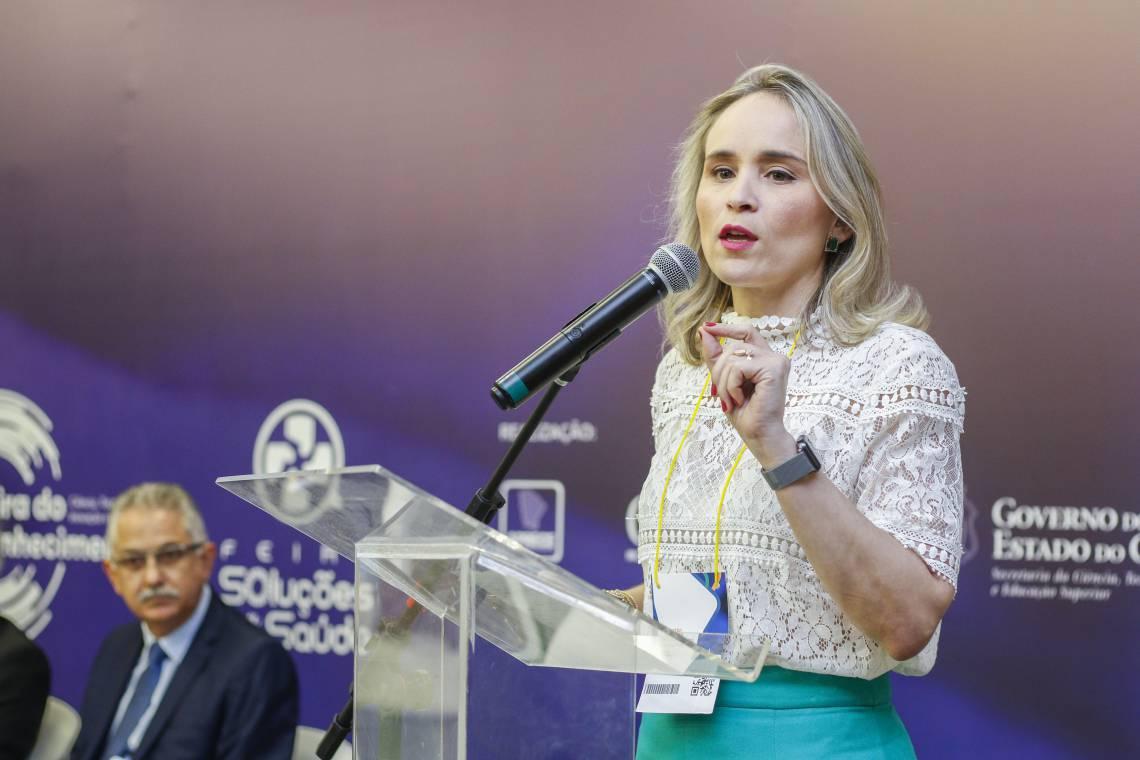 Fernanda Pacobahyba, secretária estadual da Fazenda
