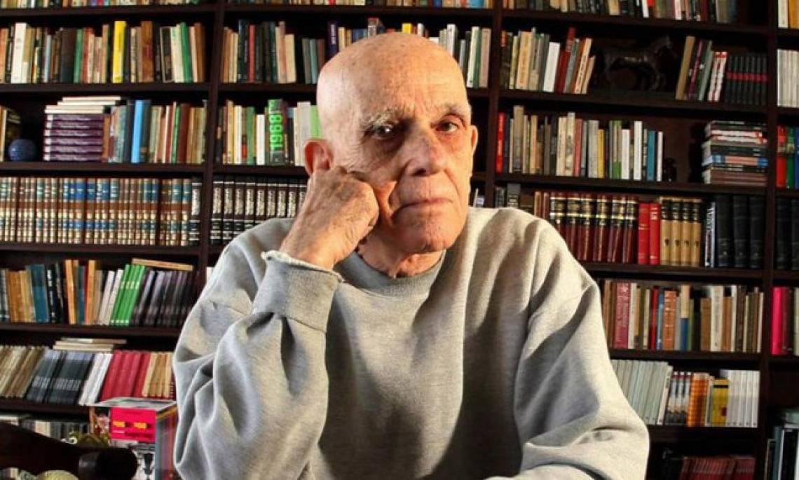O escritor Rubem Fonseca foi também roteirista e contista