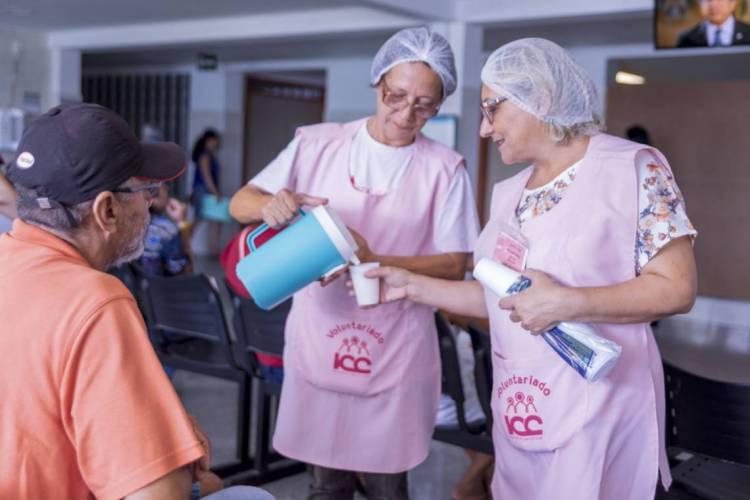 A iniciativa atende a pacientes em tratamento de câncer pelo SUS, em Fortaleza (Foto: Divulgação/Casa Vida)