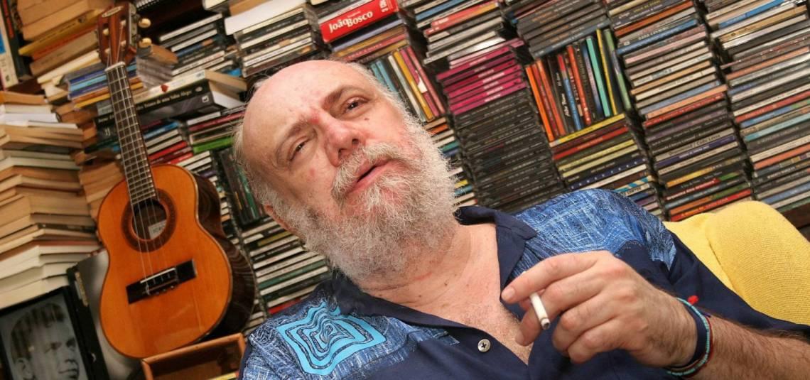 A lei de auxílio à Cultura ganhou o nome do compositor carioca Aldir Blanc, falecido em maio deste ano vítima de covid-19 (Foto: Divulgação)