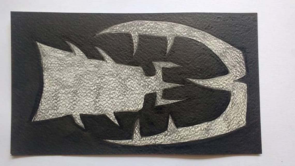 Arte de Gerson Ipirajá, no primeiro dia de exposição virtual do Mauc