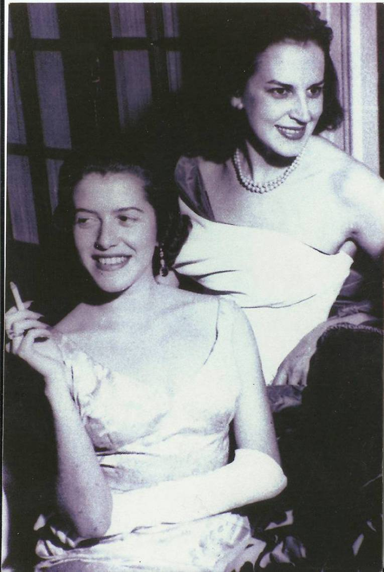 Hilda Hilst e Lygia Fagundes Telles, Anos 50