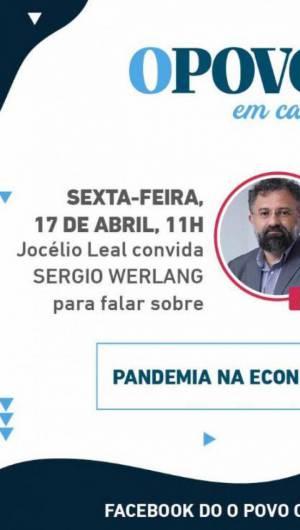 Pandemia na Economia é o tema do bate-papo