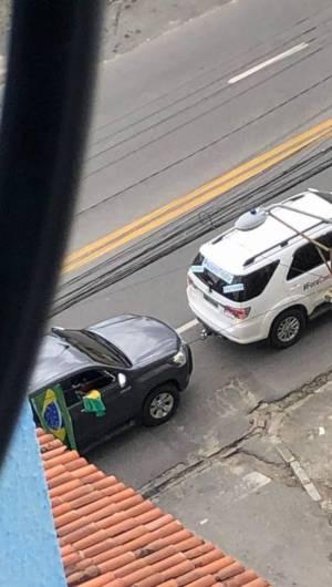 Carreata registrada em via de Fortaleza