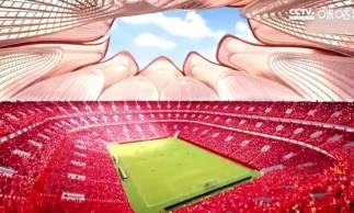 Estádio terá o formato de uma flor de lótus