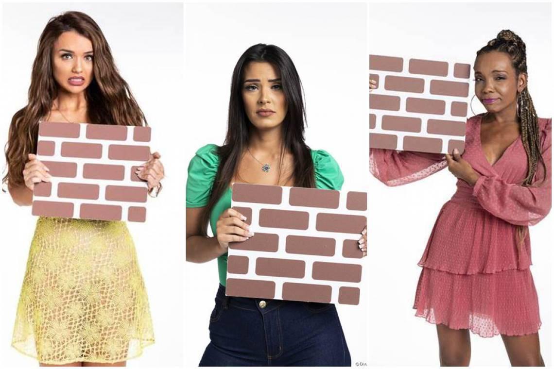 Rafa, Ivy e Thelma está no paredão do BBB20. Vote na enquete do BBB