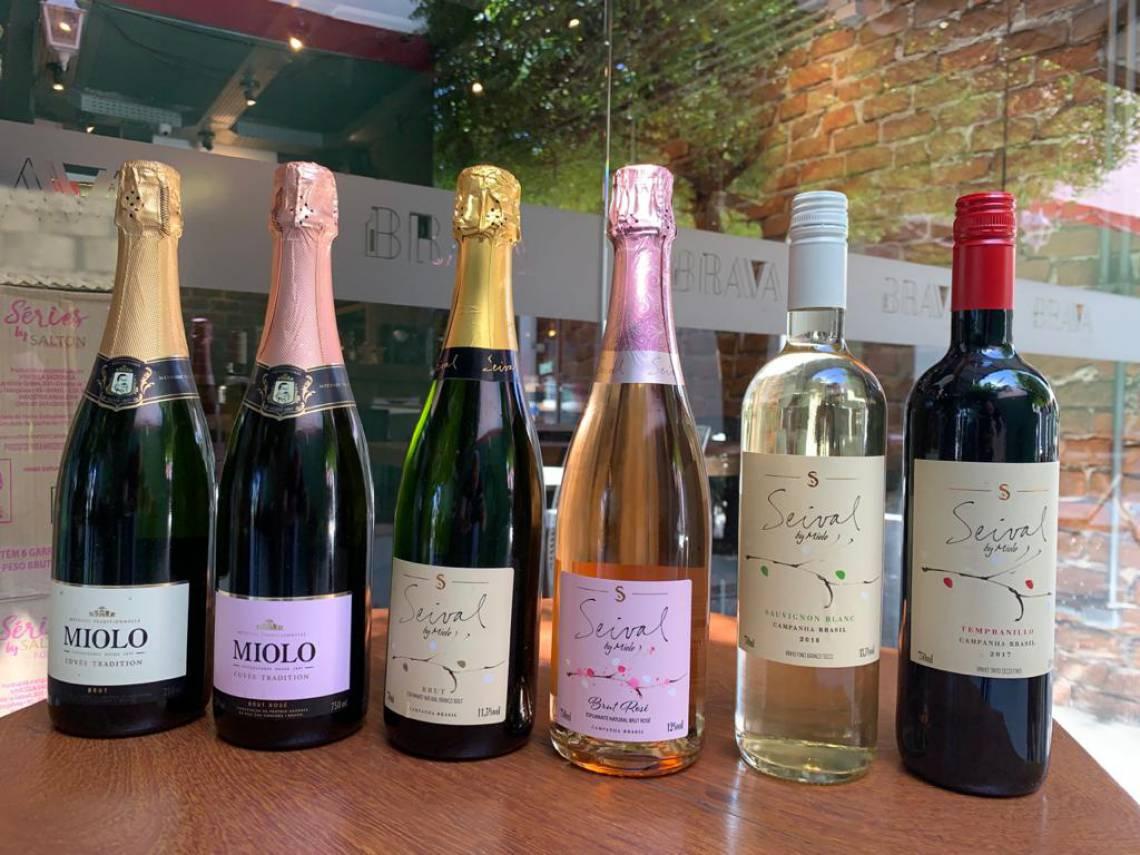 A Brava Wine entrega 800 rótulos de vinhos, nacionais ou importados.