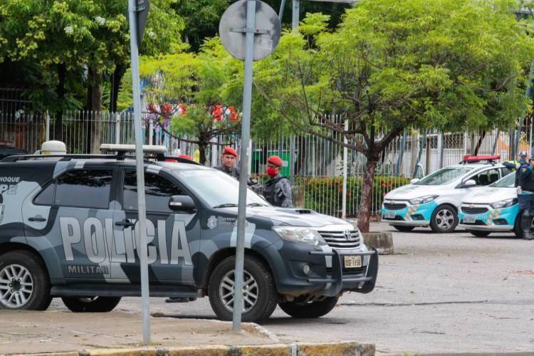 A Policia Militar será a área com mais vagas, totalizando 2.200, divididas entre 200 oficiais e 2 mil para soldados (Foto: JÚLIO CAESAR)