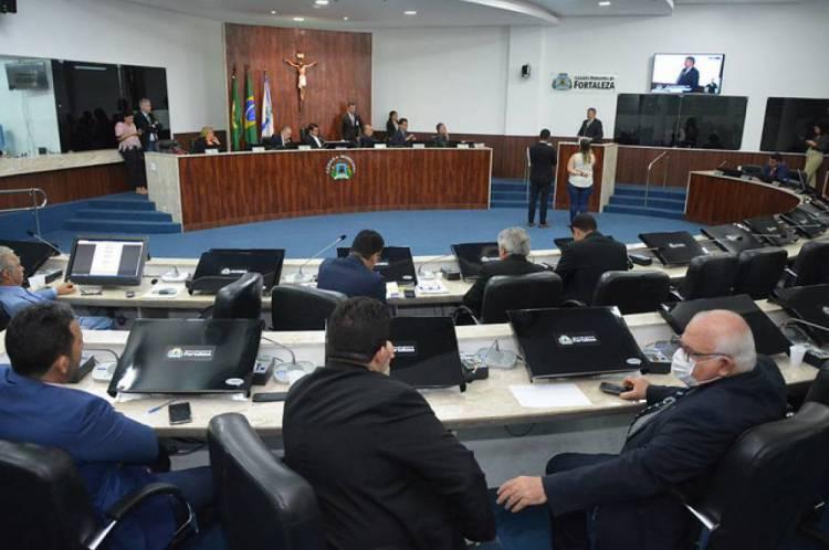 Plenário da Câmara Municipal de fortaleza