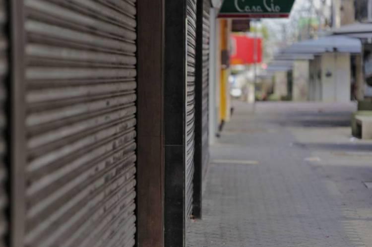 Centro de Fortaleza é um dos afetados pela crise econômica