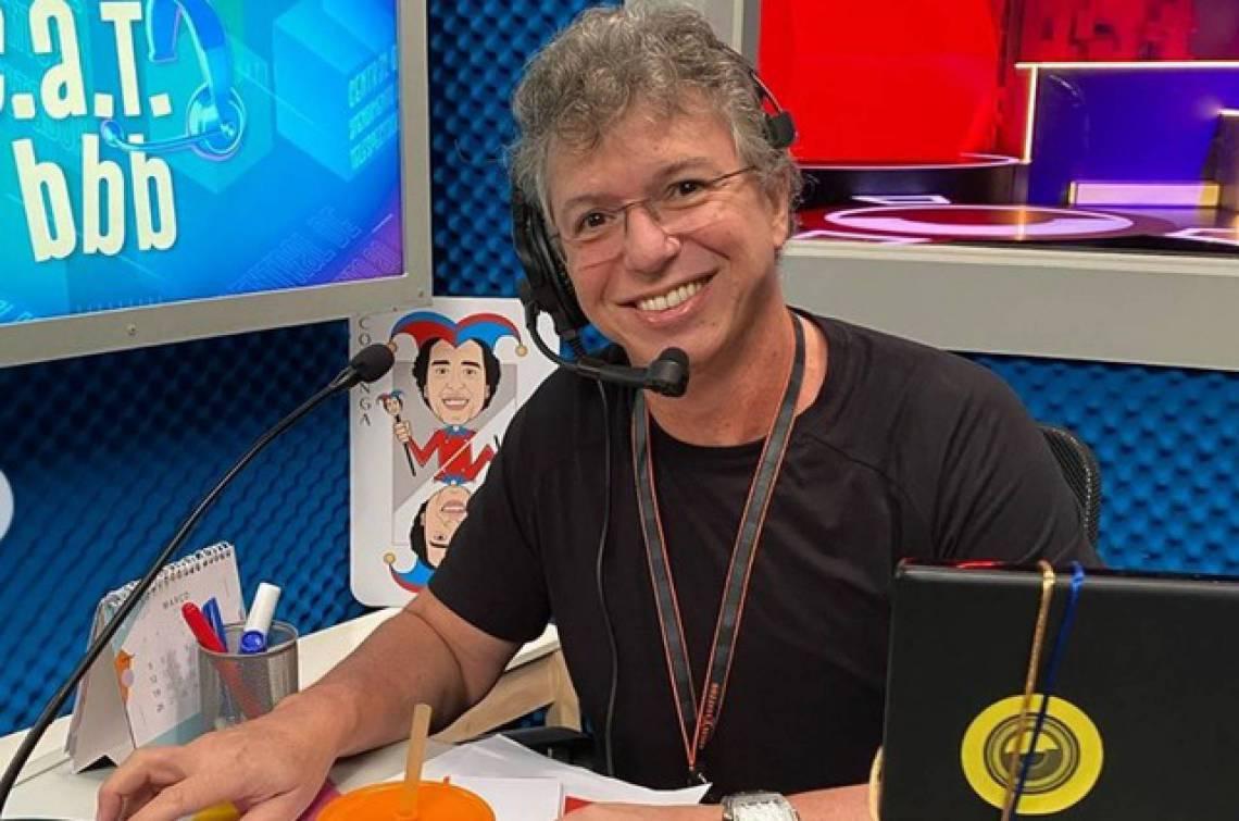 Boninho é o diretor de núcleo do Big Brother Brasil 20 (BBB20)