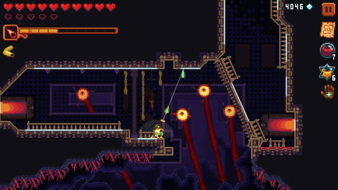 Dandara: Trials of Fear Edition é um jogo de plataforma 2D com elementos da cultura brasileira
