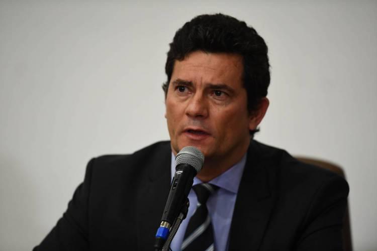 O discurso do ex-juiz repercutiu nas redes sociais, principalmente, entre as figuras públicas e politicas do País (Foto: EVARISTO SA / AFP)
