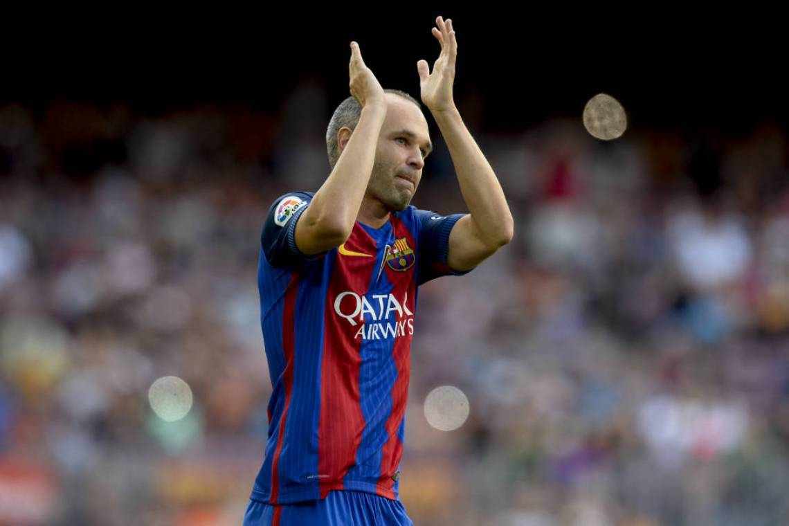 Iniesta teve passagem marcante pelo Barcelona