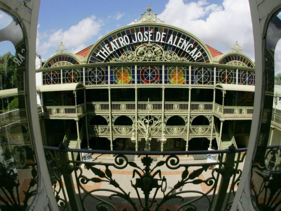 Theatro José de Alencar, em Fortaleza