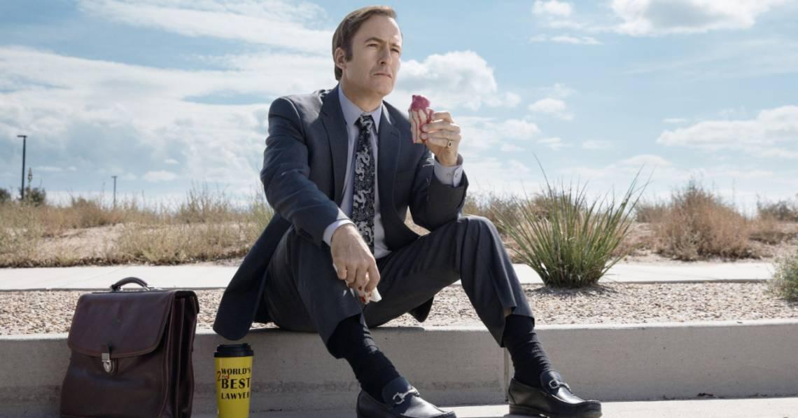 O Ator Bob Odenkirk estrela a série como Saul Goodman