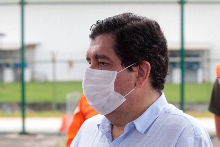 Secretário da Saúde do Estado, Dr. Cabeto (Foto: JÚLIO CAESAR)