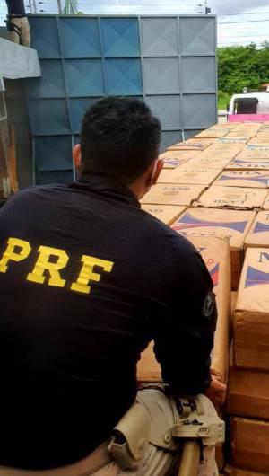 Ação da PRF foi na manhã desse domingo, 26