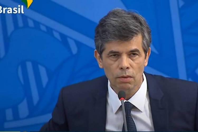 Nelson Teich, Ministro da Saúde, em coletiva técnica sobre ações de enfrentamento ao novo coronavírus