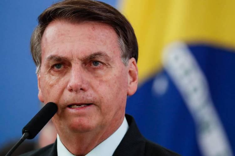 Bolsonaro deu declaração na entrada do Palácio da Alvorada