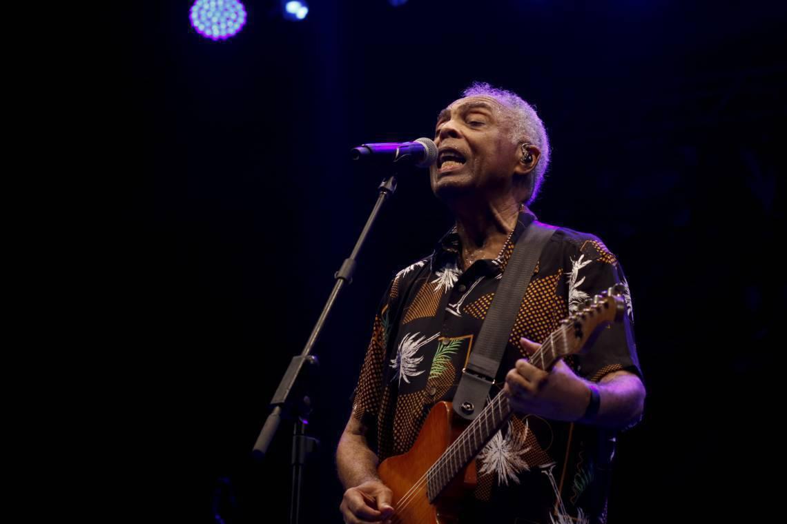 Gilberto Gil fará live na quinta-feira, 30 de abril