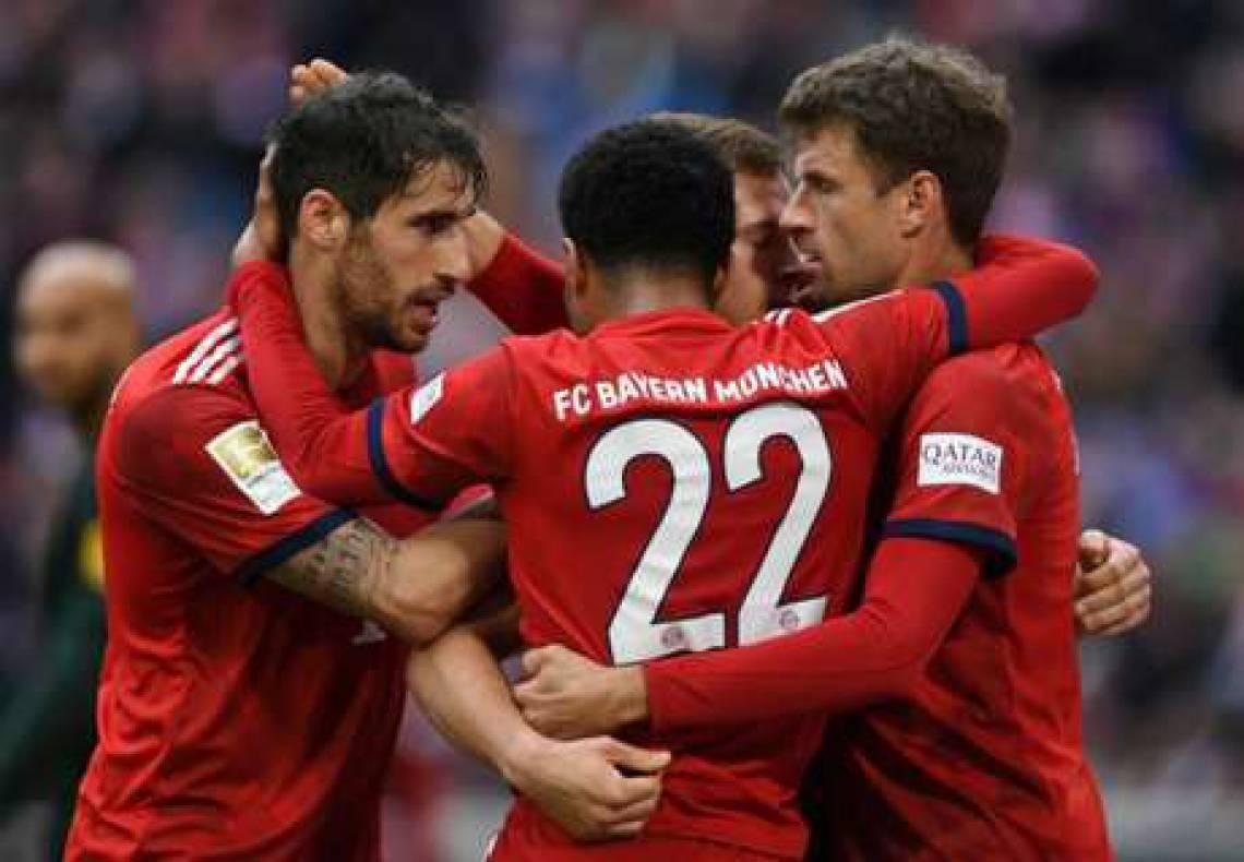 Bayern de Munique é um dos times que jogam na Bundesliga