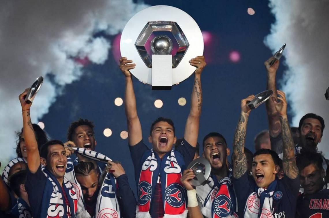 PSG ganha o terceiro título seguido e o sétimo em oito anos