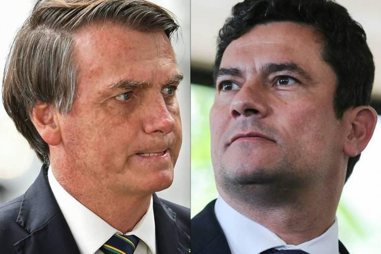 Moro cita que o pronunciamento de Bolsonaro confirmou alguns pontos da versão sustentada por ele (Foto: Sergio LIMA / AFP)