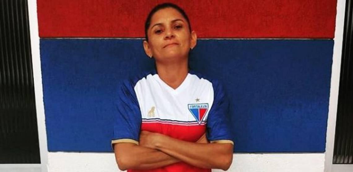 Elizete é artilheira do time feminino do Fortaleza