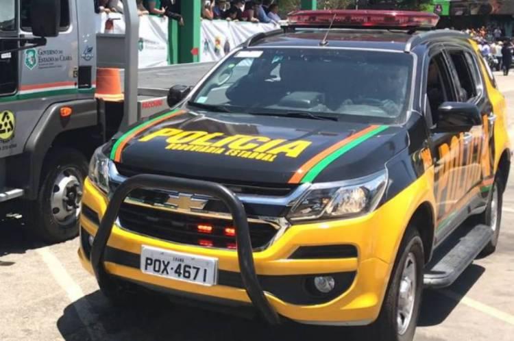 Polícia Rodoviária Estadual registrou queda de 67% no número de acidentes. Na imagem, viatura da PRE. Foto: Assessoria de imprensa da SSPDS