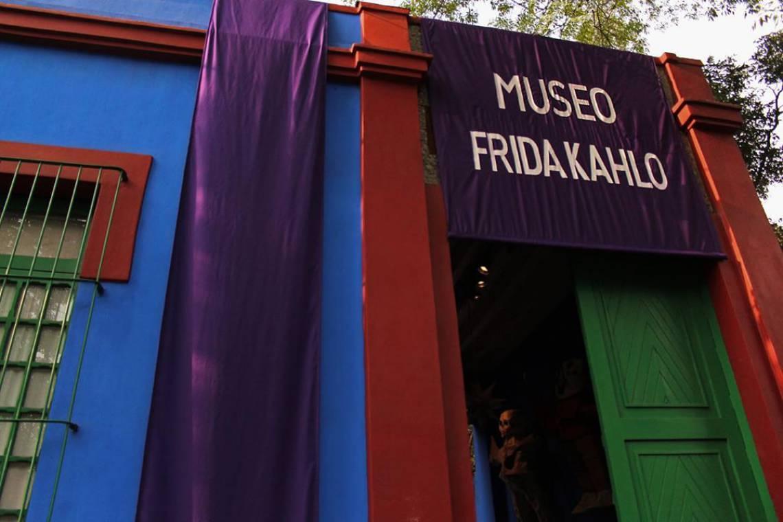 Museu Frida Kahlo, localizado na Cidade do México, disponibiliza tour virtual