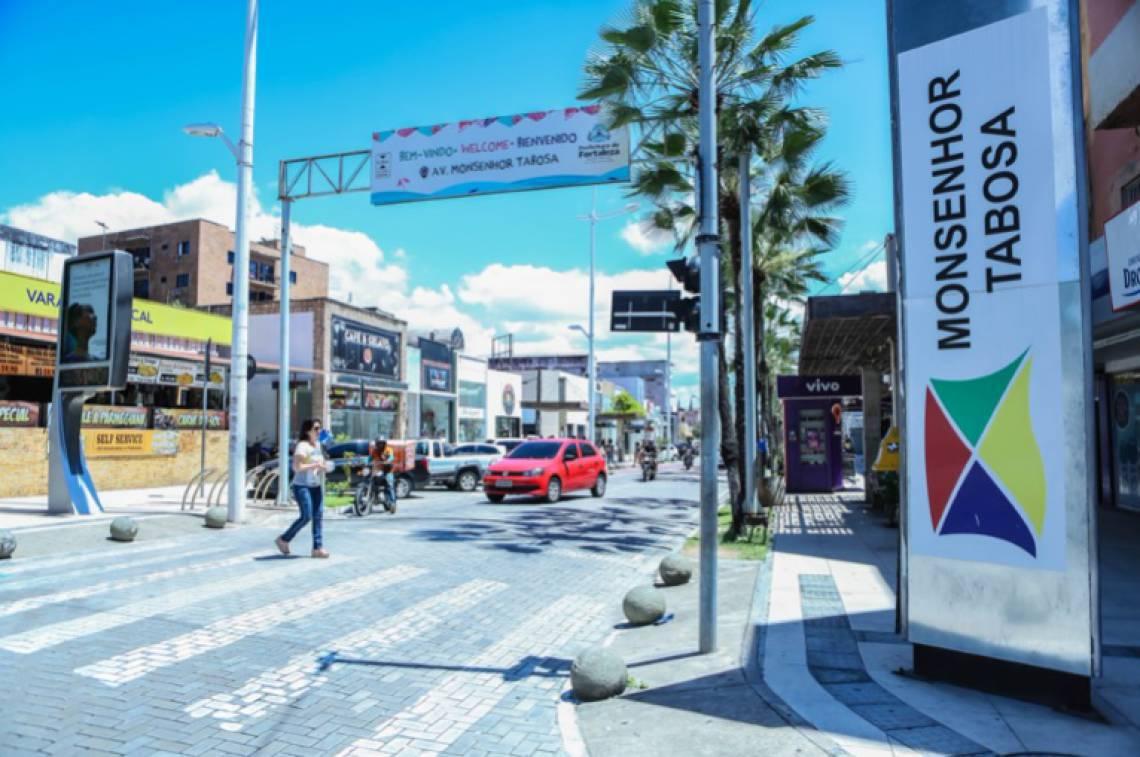 Avenida Monsenhor Tabosa (Foto: DIVULGAÇÃO)