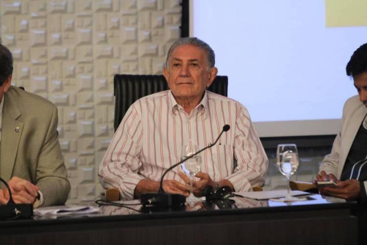 Carlile Lavor foi secretário da Saúde do Estado do Ceará em duas oportunidades (Foto: Diego Camelo, em05/05/15)