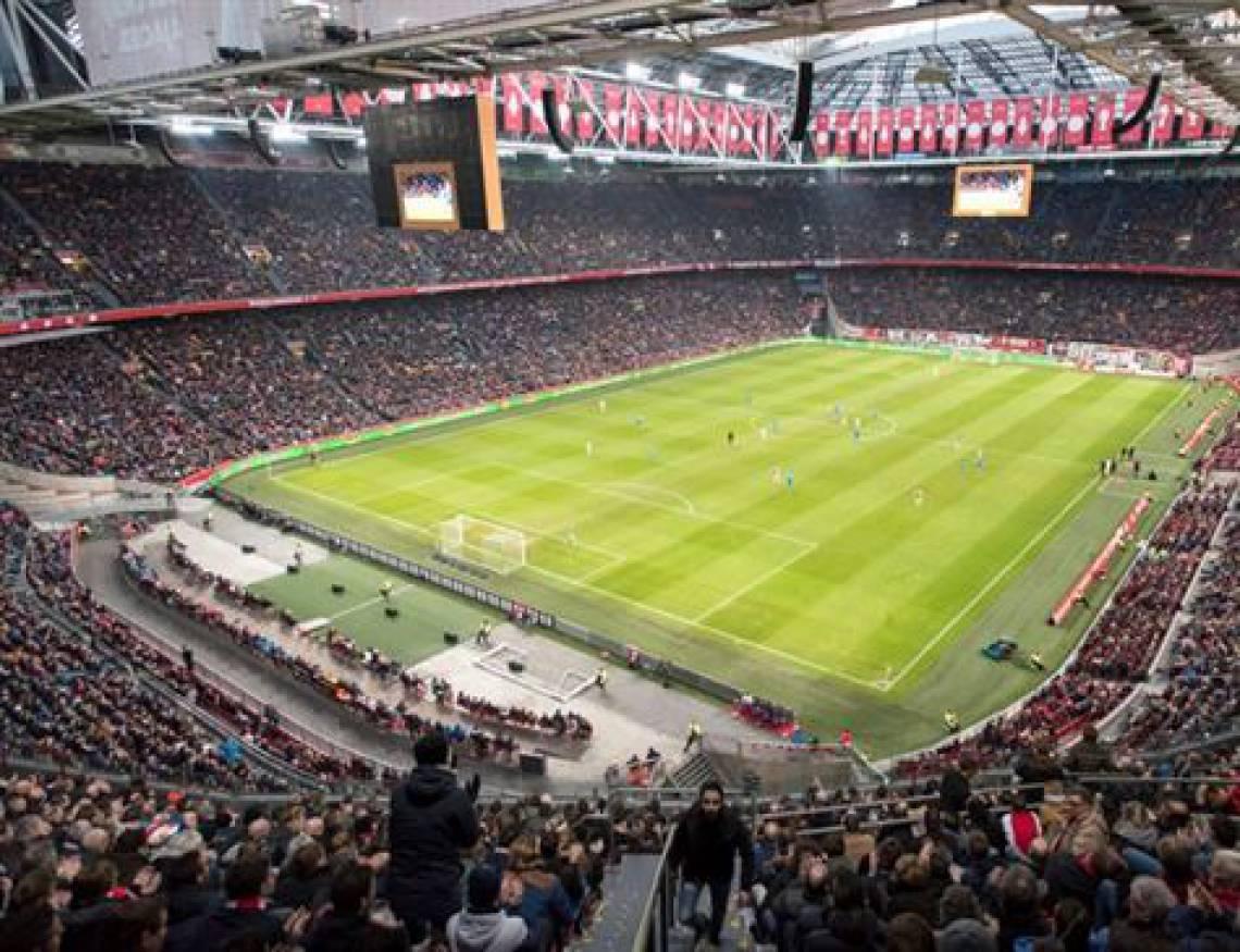 Johan Cryuff Arena, estádio do Ajax e um dos principais palcos do futebol holandês