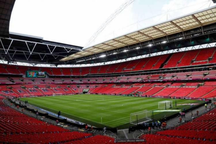 Estádio do Wembley, o maior palco do futebol da Inglaterra  (Foto: AFP)
