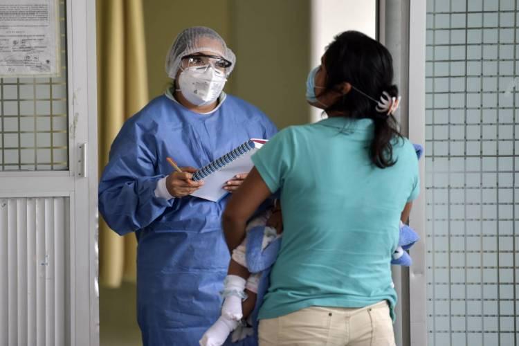 Terremoto no último dia 23 de junho agravou a situação da pandemia no México (Foto: PEDRO PARDO / AFP)