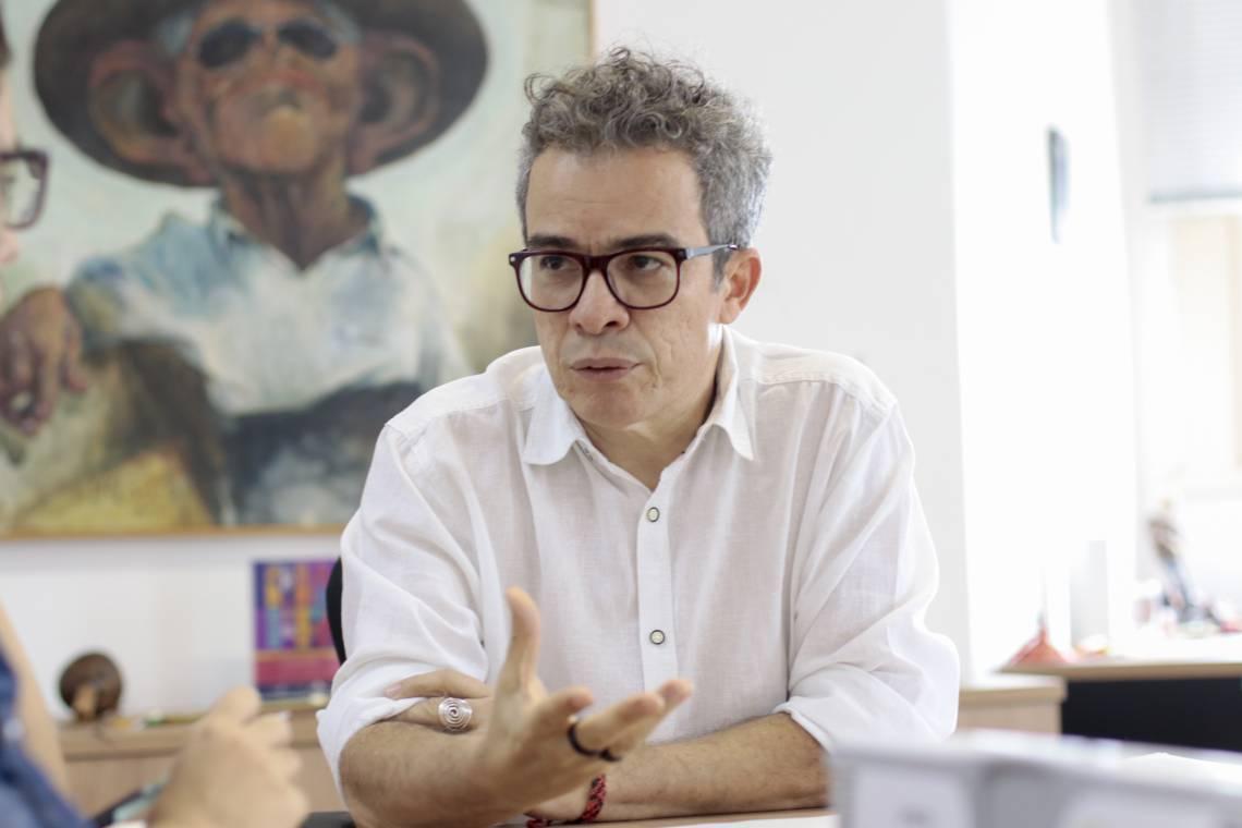 Fabiano Piúba, secretário da Cultura
