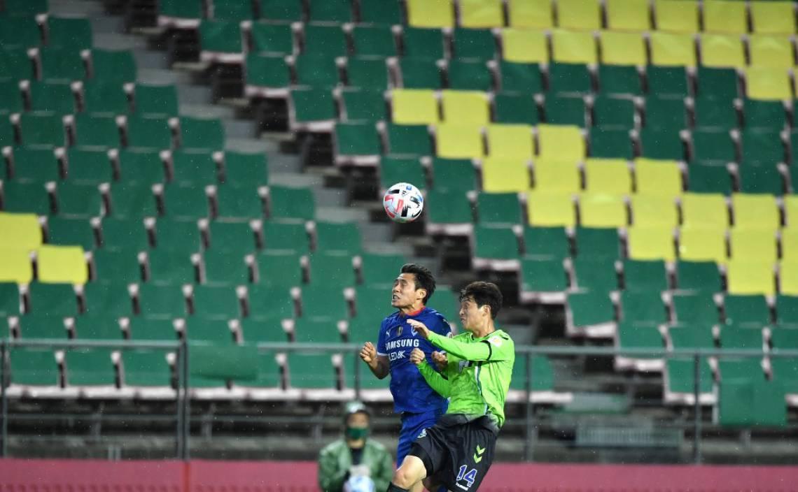 Previsto para começar em fevereiro, o Campeonato Sul-Coreano de futebol (K-League) teve o jogo de abertura nesta sexta-feira, 8