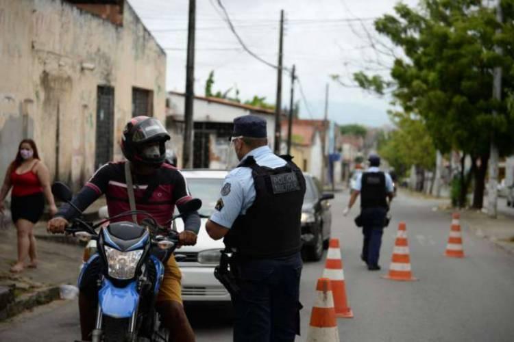 Medidas mais rígidas de isolamento entraram em vigor na sexta-feira, 8 (Foto: Divulgação/SSPDS)