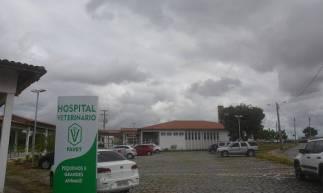 O hospital veterinário da Uece está com atividades suspensas